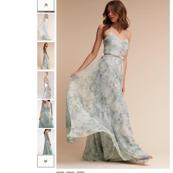 b190d94f48de BHLDN Dresses | Jenny Yoo Inesse Dress Morning Mist Multi | Poshmark